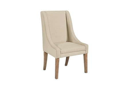 Magnolia Home Demi Linen Wing Side Chair By Joanna Gaines - Main