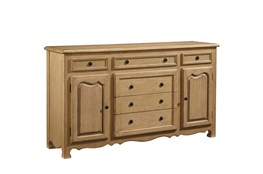"""Magnolia Home Cottage Cove Dresser/ 68"""" Buffet By Joanna Gaines"""