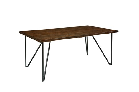 Magnolia Home Hairpin 72 Inch Dining Table By Joanna Gaines - Main