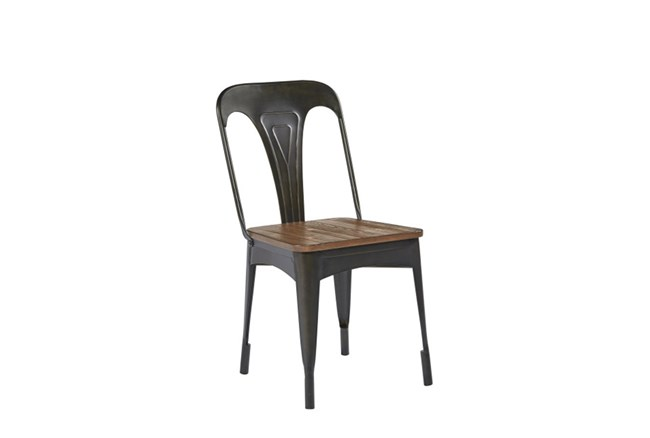 Magnolia Home Metal Cafe Side Chair By Joanna Gaines - 360