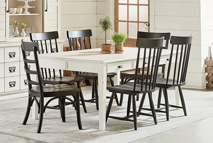 Stupendous Magnolia Home White Keeping 96 Inch Dining Table By Joanna Gaines Squirreltailoven Fun Painted Chair Ideas Images Squirreltailovenorg