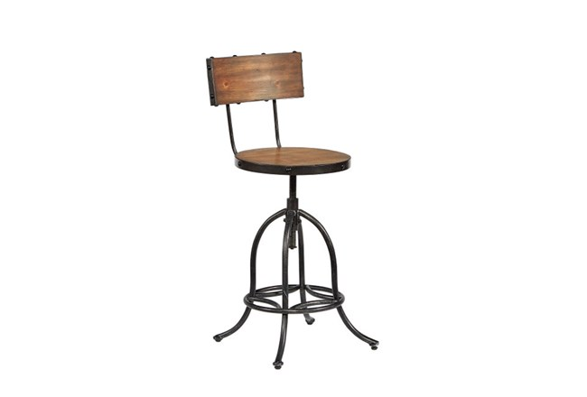"""Magnolia Home Architect 32"""" Stool By Joanna Gaines - 360"""