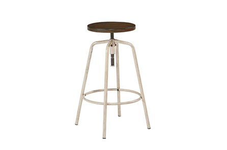 Magnolia Home Antique White Factory Stool By Joanna Gaines - Main