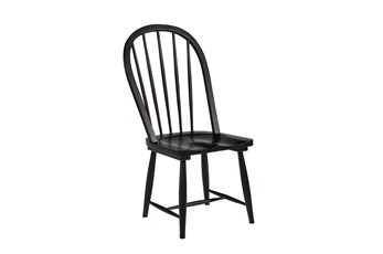 Magnolia Home Windsor Jo's Black Hoop Dining Side Chair By Joanna Gaines
