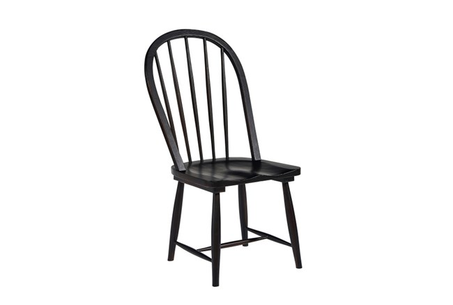 Magnolia Home Windsor Jo'S Black Hoop Chair By Joanna Gaines - 360
