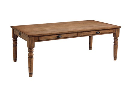 Magnolia Home Taper Turned Bench 96 Inch Dining Table By Joanna Gaines