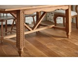 Magnolia Home Leaf Carved Dining Table By Joanna Gaines - Room