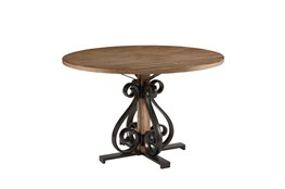 Magnolia Home Scroll Round Dining Table By Joanna Gaines
