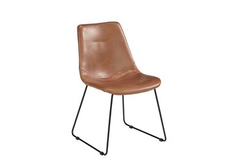 Magnolia Home Molded Shell Saddle Dining Side Chair By Joanna Gaines