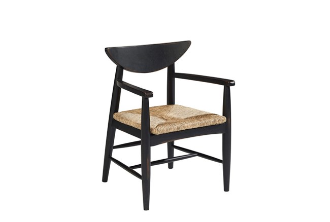 Magnolia Home Reed Dining Arm Chair By Joanna Gaines - 360