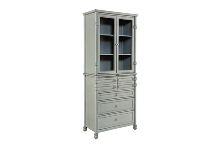 Magnolia Home Mineral Metal Dispensary Cabinet By Joanna Gaines - Main
