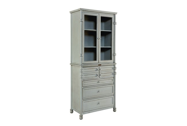 Magnolia Home Mineral Metal Dispensary Cabinet By Joanna Gaines - 360