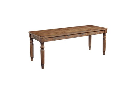Magnolia Home Taper Turned Bench By Joanna Gaines - Main