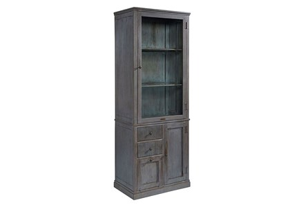 Magnolia Home Apothecary French Grey Metal Cabinet By Joanna Gaines
