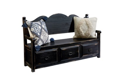 Magnolia Home Parson's Storage Bench By Joanna Gaines - Signature