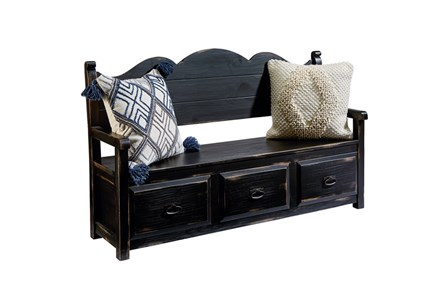 Magnolia Home Parson'S Storage Bench By Joanna Gaines - Main