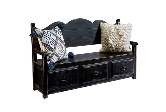 Magnolia Home Parson'S Storage Bench By Joanna Gaines - 360