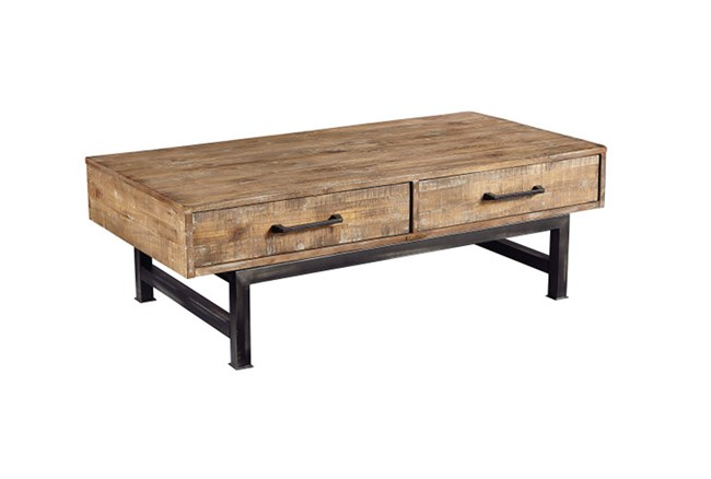 Magnolia Home Pier And Beam Coffee Table By Joanna Gaines - 360