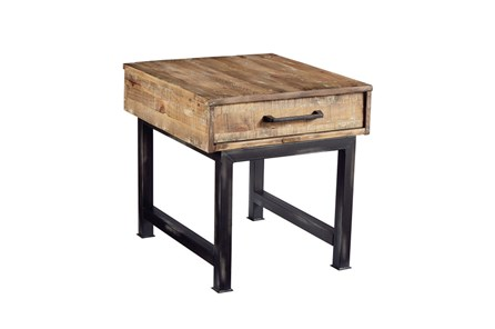 Magnolia Home Pier And Beam End Table By Joanna Gaines