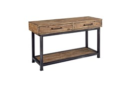 Magnolia Home Pier And Beam Console Table By Joanna Gaines