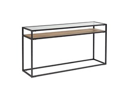 Magnolia Home Showcase Console Table By Joanna Gaines