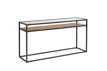 "Magnolia Home Showcase 60"" Console Table By Joanna Gaines"