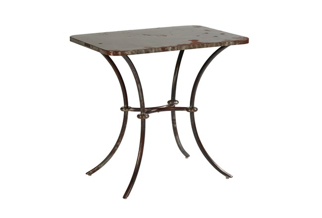 Magnolia Home Lulu Metal Side Table By Joanna Gaines - 360