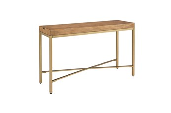 "Magnolia Home Linear 54"" Console Table By Joanna Gaines"
