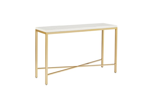 Magnolia Home Luxe Console Table By Joanna Gaines - 360
