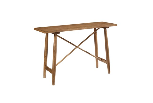 Magnolia Home Strut Console Table By Joanna Gaines - 360
