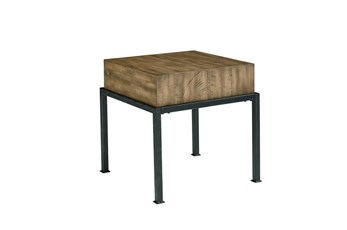 Magnolia Home Butcher Block End Table By Joanna Gaines
