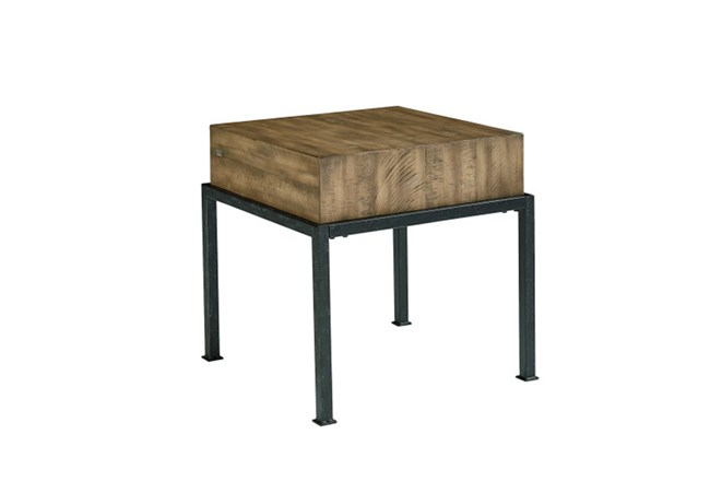 Magnolia Home Butcher Block End Table By Joanna Gaines - 360