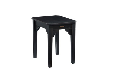 Magnolia Home Bracket Jo'S Black End Table By Joanna Gaines