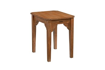 Magnolia Home Bracket Bench End Table By Joanna Gaines