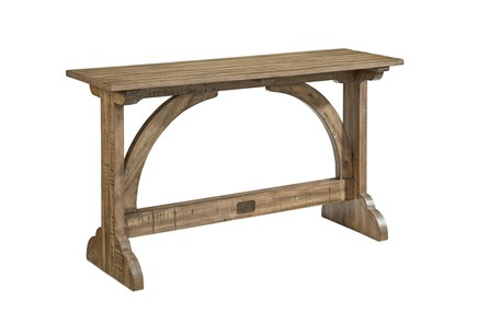 Magnolia Home Barrel Vault Console Table By Joanna Gaines