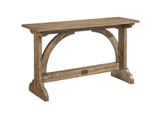Magnolia Home Barrel Vault Console Table By Joanna Gaines - 360