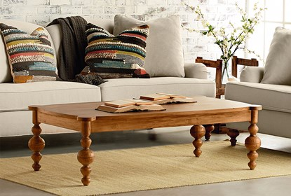 Magnolia Home Jo S Farmhouse Coffee Table By Joanna Gaines Living Spaces