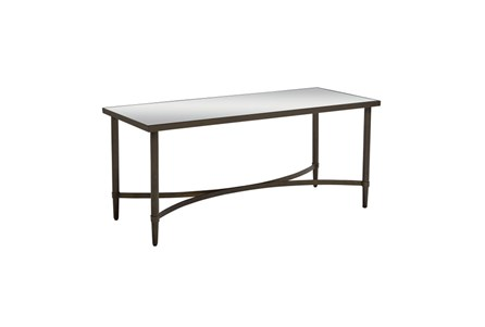 Magnolia Home Mercury Glass Coffee Table By Joanna Gaines