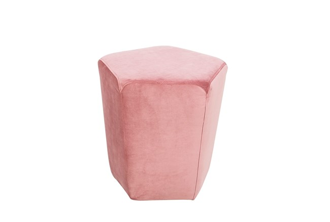Pale Lilac Stool - 360