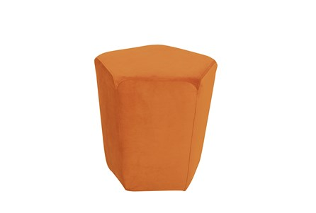 Burnt Orange Stool