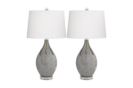Table Lamp-Volcanic Shimmer 2-Pack