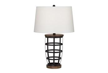 Table Lamp-Woodman