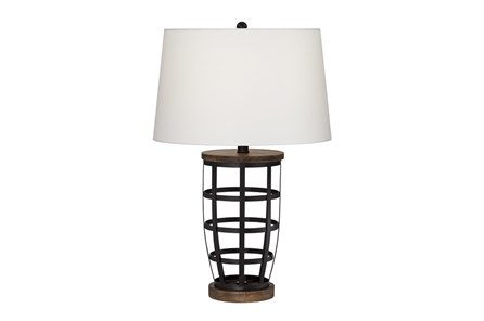 Table Lamp-Woodman