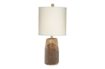 Table Lamp-Scarlet Oak