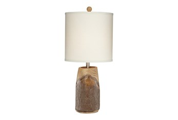 Table Lamp-Scarlet Oak