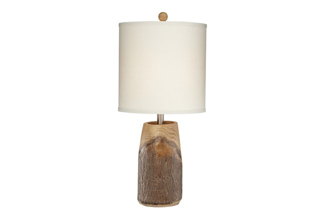 Table Lamp-Scarlet Oak - 360