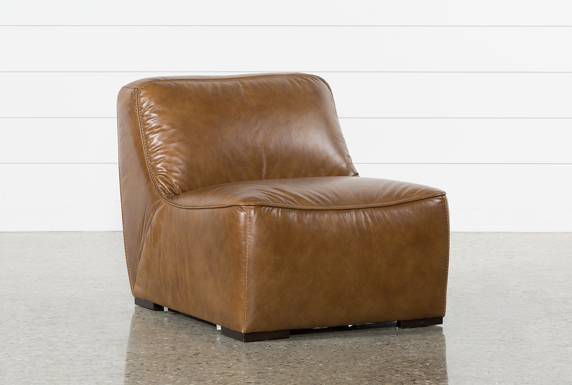 Perfect Burton Leather Armless Chair (Qty: 1) Has Been Successfully Added To Your  Cart.