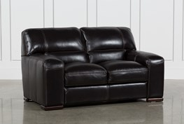 Grandin Leather Loveseat