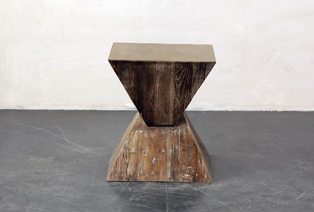 Inverted Triangle End Table