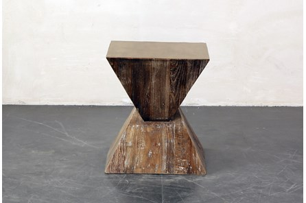 Inverted Triangle End Table - Main